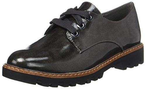 Zapatos Tamaris Struct Cordones Gris para Oxford Anthr 23712 Mujer de q75wrPz7
