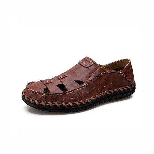 trekking da Sandali scarpe estivi B da in sportivi da 39 C da esterni pelle Sandali da trekking Dimensione scarpe uomo YaXuan trekking spiaggia Colore vqwTCT
