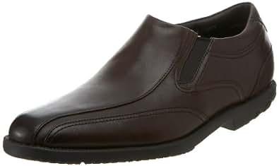 Rockport Men's Dressport Slip-On,Dark Brown,7.5 M US