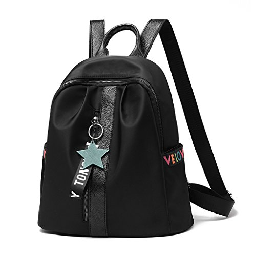 Female Wind College School Backpack Shoulder Bag Student Large Canvas Cloth Xxpp Oxford t5nqZaEwZx