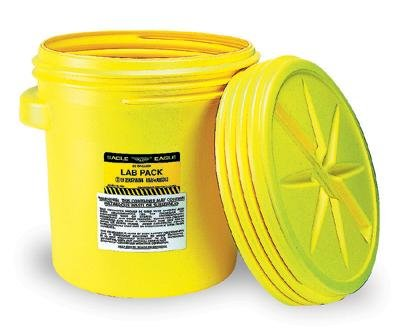 Eagle Haz-Mat 20 Gallon Polyethylene Containment Lab Pack With Screw Top Lid 20 1/2'' X 21 1/4''