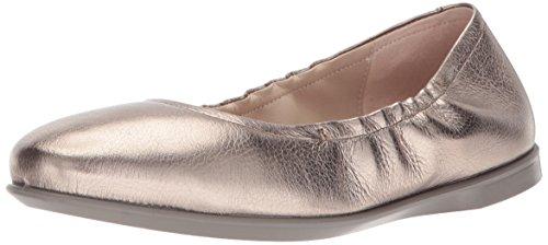 Grey ECCO Shoes Incise Ballerina Warm Enchant Women's ZAqYZF