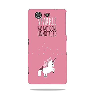 online retailer c996e f875f Sony Xperia Z3 Compact phone case 3D,Hot fancy cover unicorn phone ...