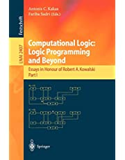 Computational Logic: Logic Programming and Beyond: Essays in Honour of Robert A. Kowalski, Part I