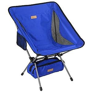 41Ke01y5XdL. SS300 TREKOLOGY YIZI GO Campingstuhl kompakt – Outdoorstuhl faltbar, Kleiner, ultraleichter und klappbarer Campingstuhl in…