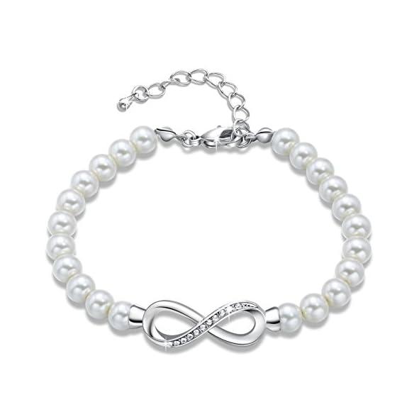 Forever Elegance Pearl Bracelet