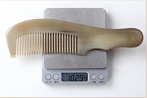GuiXinWeiHeng Handmade white horns comb comb by GuiXinWeiHeng (Image #1)