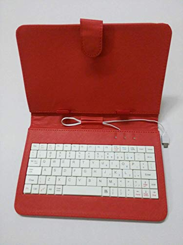 IKALL Leather Keyboard Case for All 7 inch Tablets