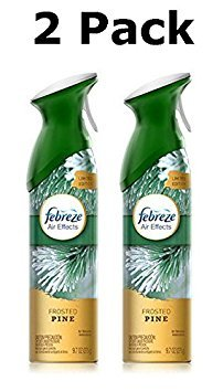 Febreze Air Effects Air Freshener - Limited Edition - Frosted Pine, 9.7 Oz (Pack of (Christmas Scents)