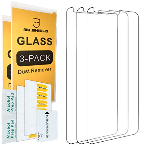 [3-Pack]-Mr.Shield for LG Stylo 5 [Tempered Glass] Screen Protector with Lifetime Replacement from Mr.Shield
