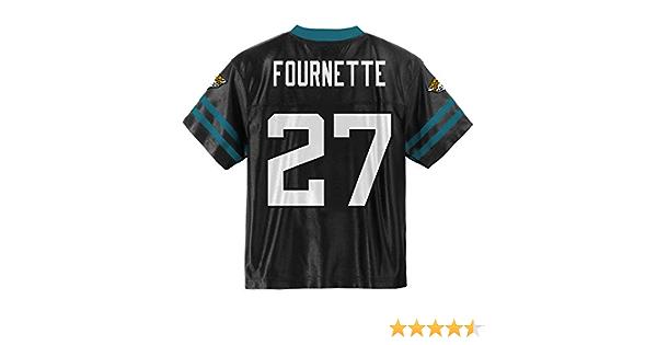 Outerstuff Leonard Fournette Jacksonville Jaguars #27 Black Youth Home Player Jersey