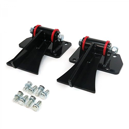 Engine Frame Brackets (Helix 315552 Chevy LS Series Weld In Motor Mount Set Engine & Frame Brackets, 1 Pack)