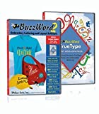 BuzzWord 2 Embroidery Lettering & Layout Software BUNDLE with the Windows Font Add-On Pack