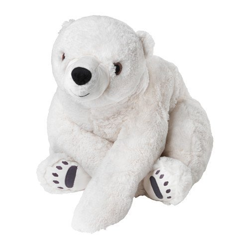 Ikea Polar Bear Plush Stuffed 23.5