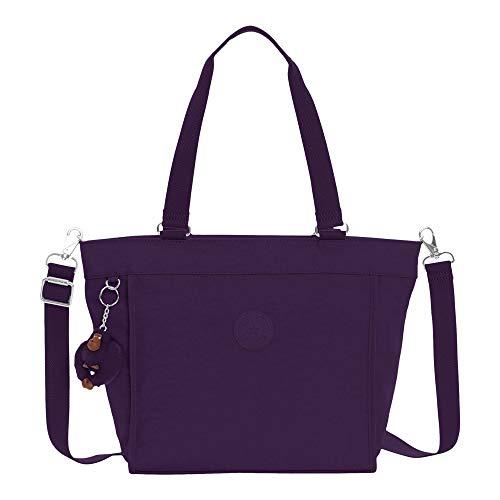 Deep Kipling S Shopper New Black Purple Tote ZAAvqF