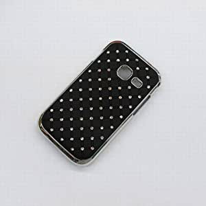 Bling Diamond Star Shining hard Case Cover For Samsung Wave Y S5380 black