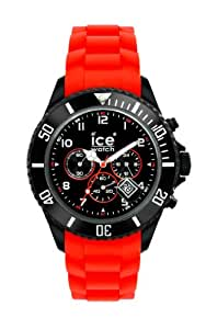 Ice-Watch CH.BR.B.S.10 - Reloj analógico de caballero de cuarzo con correa de silicona roja - sumergible a 50 metros