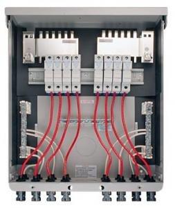 MidNite Solar MNPV8-MC4 8 Circuits Pre-Wired Combiner Box by MidNite Solar