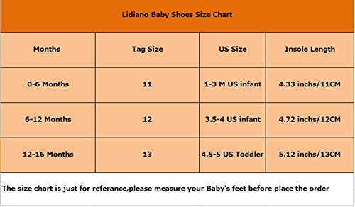 Lidiano Baby Toddler Sewing Nubuck Upper Non Slip Rubber Sole Sneakers Slippers Loafers Crib Shoes (12-16 Months, Deep Blue) - Image 6