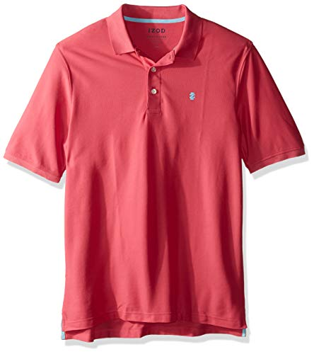 (IZOD Men's Tall Advantage Performance Solid Polo, Honeysuckle 2X-Large Big)