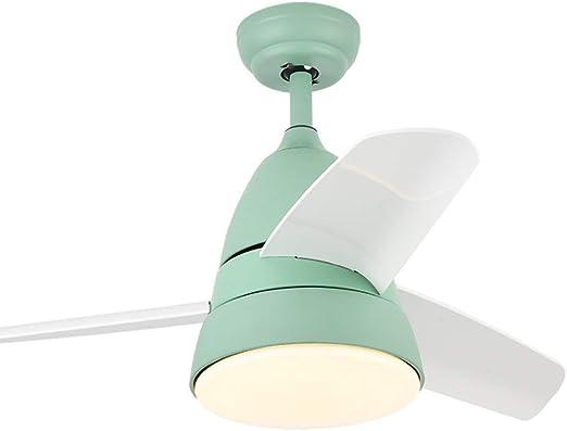BingWS Lampara Ventilador Techo Ventilador de Techo de Interior ...
