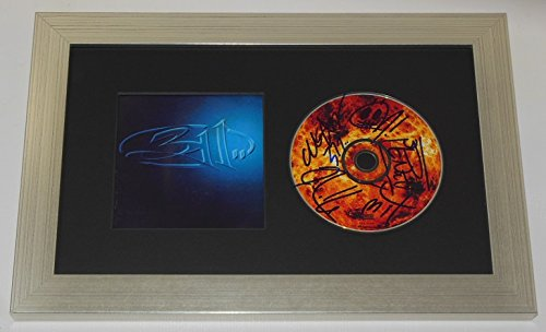 311-self-titled-group-signed-autographed-music-cd-custom-framed-display-loa