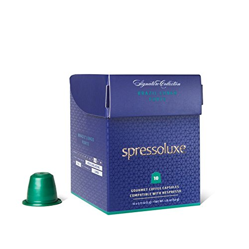 spressoluxe nespresso compatible gourmet coffee capsules. Black Bedroom Furniture Sets. Home Design Ideas