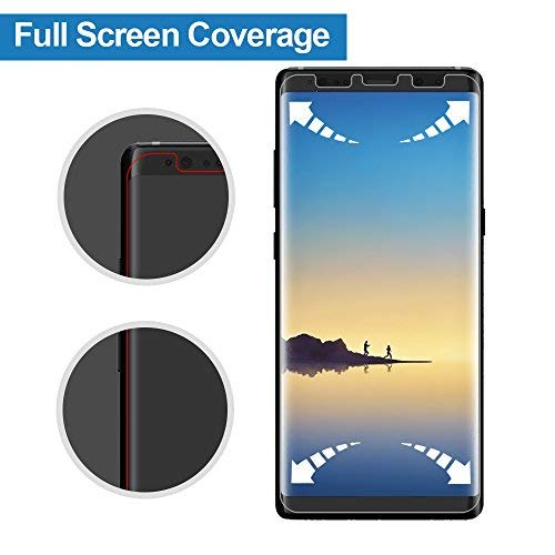 Galaxy Note 8 Screen Protector, Alinsea Galaxy Note 8 Screen Protector [Not Glass][Case Friendly][Bubble-Free] [No Lifted Edges] Film for Samsung Galaxy Note8 [2-Pack]