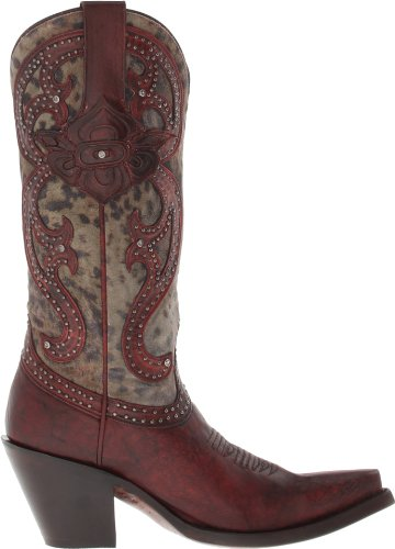 Lucchese Mujeres M4802.s53f Red