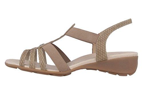 Remonte Dorndorf - Sandalias de vestir de Material Sintético para mujer Marrón marrón Marrón - marrón