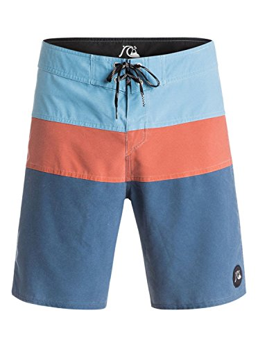 Quiksilver Men's Classic Panel 19 inch Boardshort, Dark Denim, 40