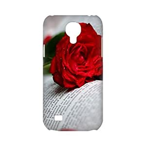 Welcome!SamSung Galaxy S4 Mini Cases-Brand New Design Book And Flower Printed High Quality TPU For SamSung Galaxy S4 Mini 4.3 Inch -06
