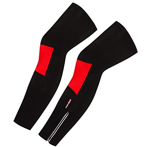 CYCEARTH Men Cycling Winter Thermal Fleece Warm Leg Warmers Windproof MTB Road Bike Legs Covers Sport Bicycle