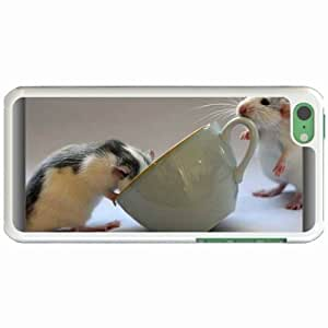 Lmf DIY phone caseCustom Fashion Design Apple iphone 4/4s Back Cover Case Personalized Customized Diy Gifts In Cute rats ampampamp cup WhiteLmf DIY phone case