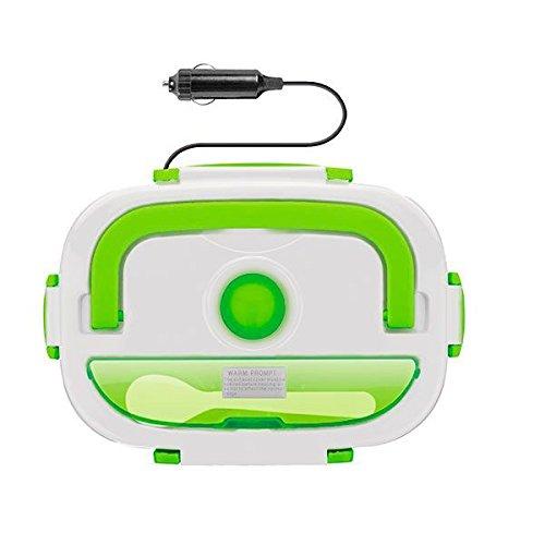 Blanche//Verte 23 x 10,5 cm x 16,5 cm Thermic Dynamics Lunchbox Gamelle /Électrique pour Voitures
