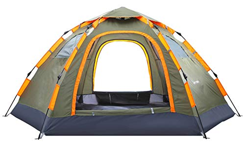 Blanmour Pop Up Camping Tent Portable 3 5 Person Family