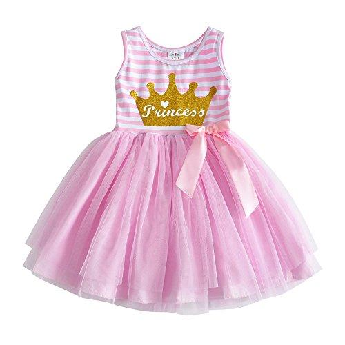 VIKITA Girls Summer Blue & Pink Sundress Short