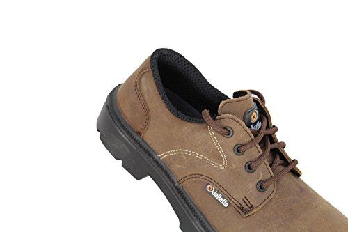 jallatte jalcaradoc SAS S3Src Zapatos de trabajo Trabajo Guantes plano marrón marrón
