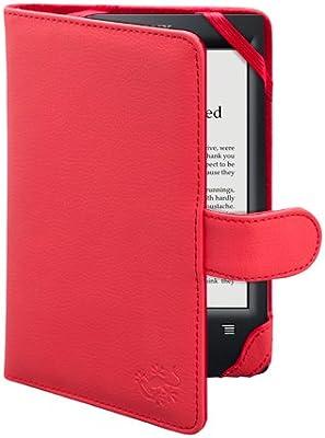 La funda Sony PRS T2/T1 de Gecko Covers de color rojo para la ...