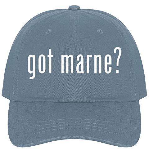 (The Town Butler got Marne? - A Nice Comfortable Adjustable Dad Hat Cap, Light Blue)