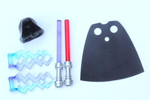 lego black hood - 6