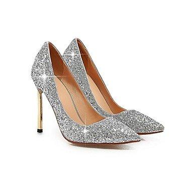 cirior da High donna High tacchi Heels Pumps punta Heels Stiletto Glitter Donne gold zehe rrCSqP