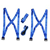 Blue Moving Straps 2-Person Lifting and Moving System-Adjustable Shoulder Lifting -Rated for Items up to 800 lbs-Easily Move, Lift, Carry, and Secure Furniture, Appliances, mattresses