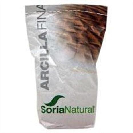 Arcilla Roja Fina 1 kg de Soria Natural: Amazon.es: Salud y cuidado personal