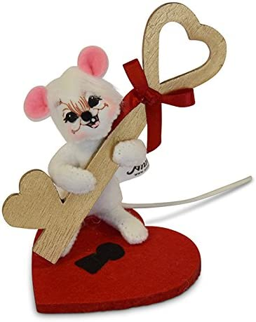 3in Key to My Heart Mouse Annalee
