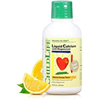 Childlife 童年时光 钙镁锌 成长营养液 474ml/瓶(6个月-12岁)酸奶口感不上火 美国品牌 包税