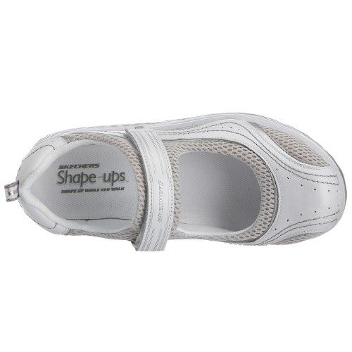 Skechers Women s Shape Ups Sleek Fit Fitness Mary Jane Sneaker ... c71a73e96