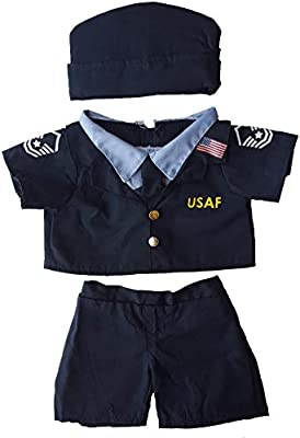 Air Force Uniform Outfit Teddy Bear Clothes Fits Most 14