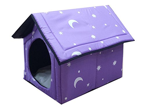 S CHONGWUCX Dog House Dog House Detachable Teddy Bears Small medium sized dog