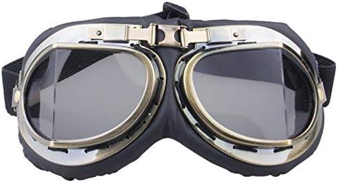 Retro Goggles Motorcycle Off-Road Goggles Windproof Goggles Anti-UV Sports Glasses